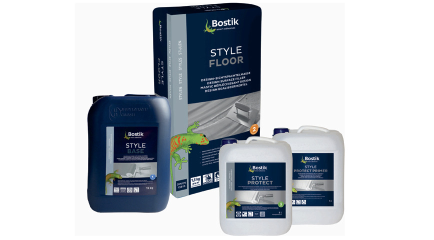 Logo Bostik Pure Style System