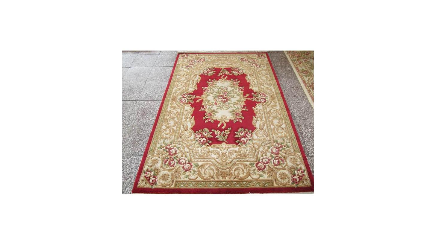 Logo Wool Hand-made Carpet
