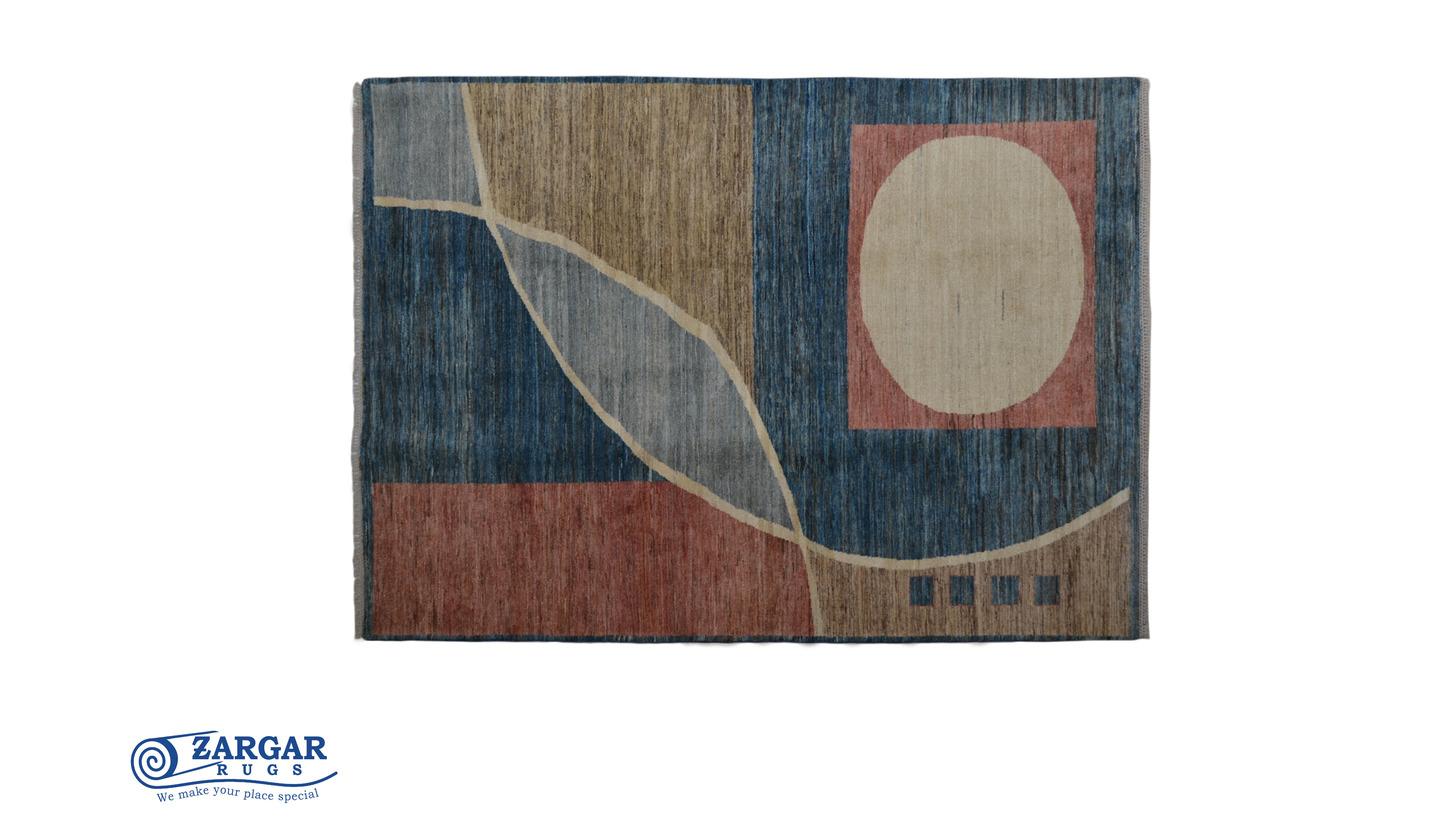 Logo Modernes Design handgeknüpfte Teppiche