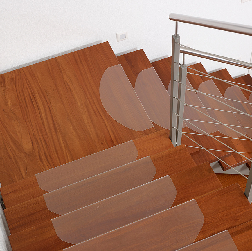 Logo stairs protection  mat