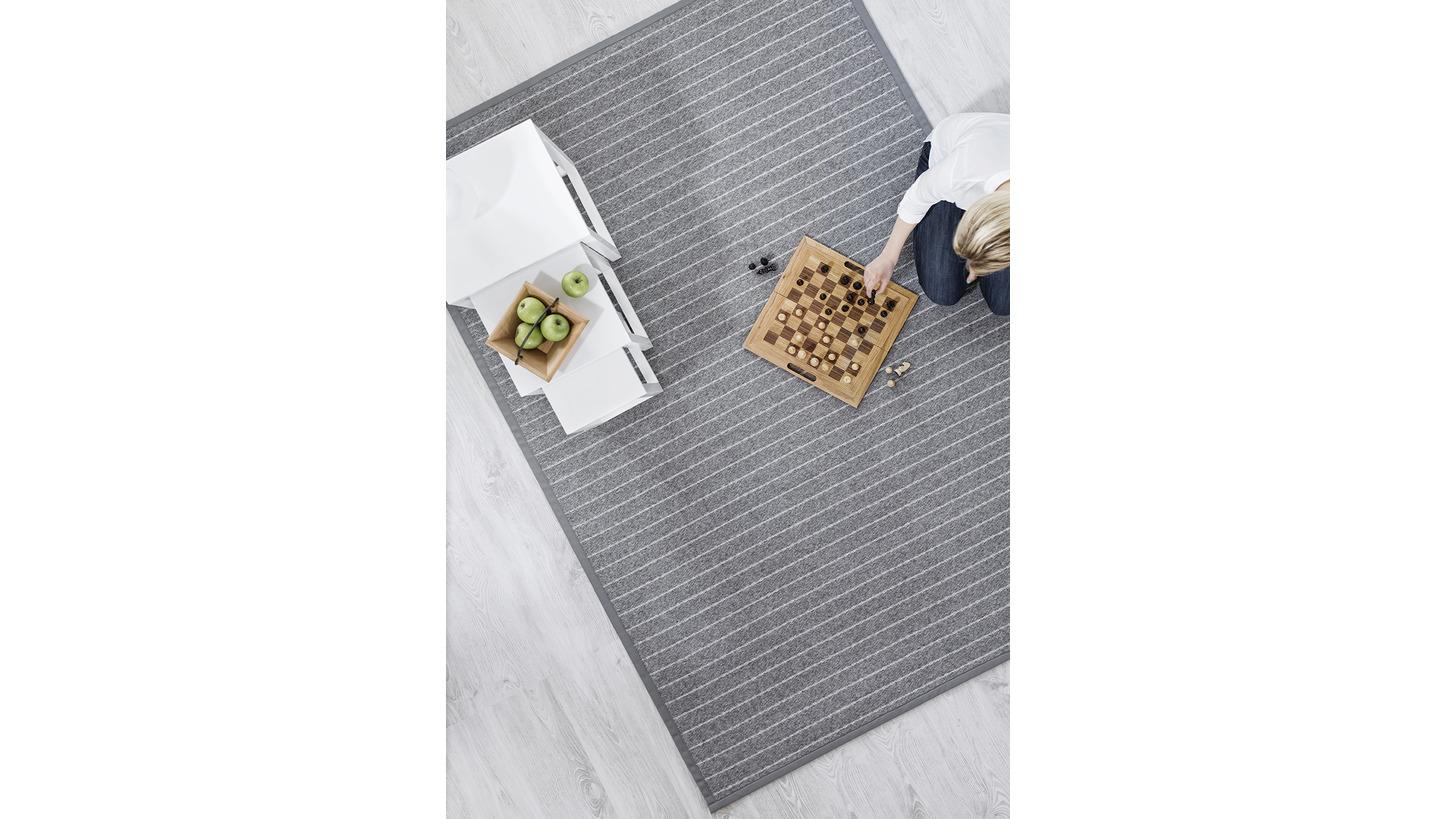 Logo Rytmi wool-paper yarn carpet