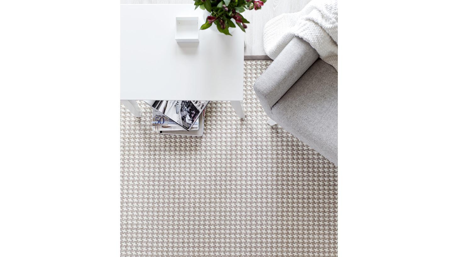 Logo Askel wool-paper yarn carpet