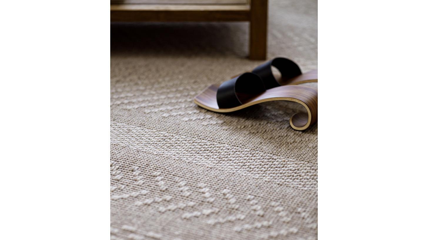 Logo Matilda wool-paper yarn carpet