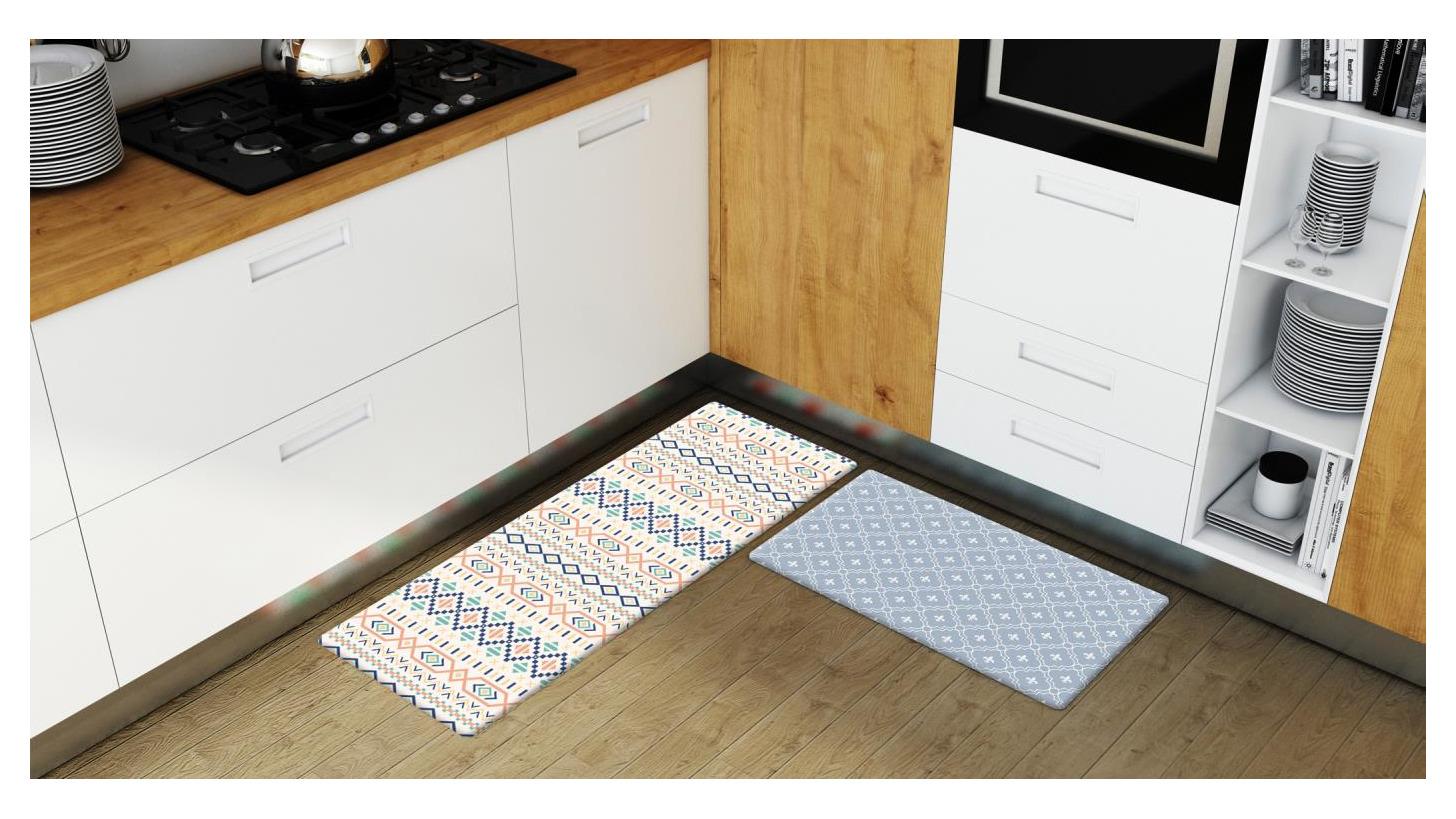 Logo Anti- Fatigue Kitchen Mat