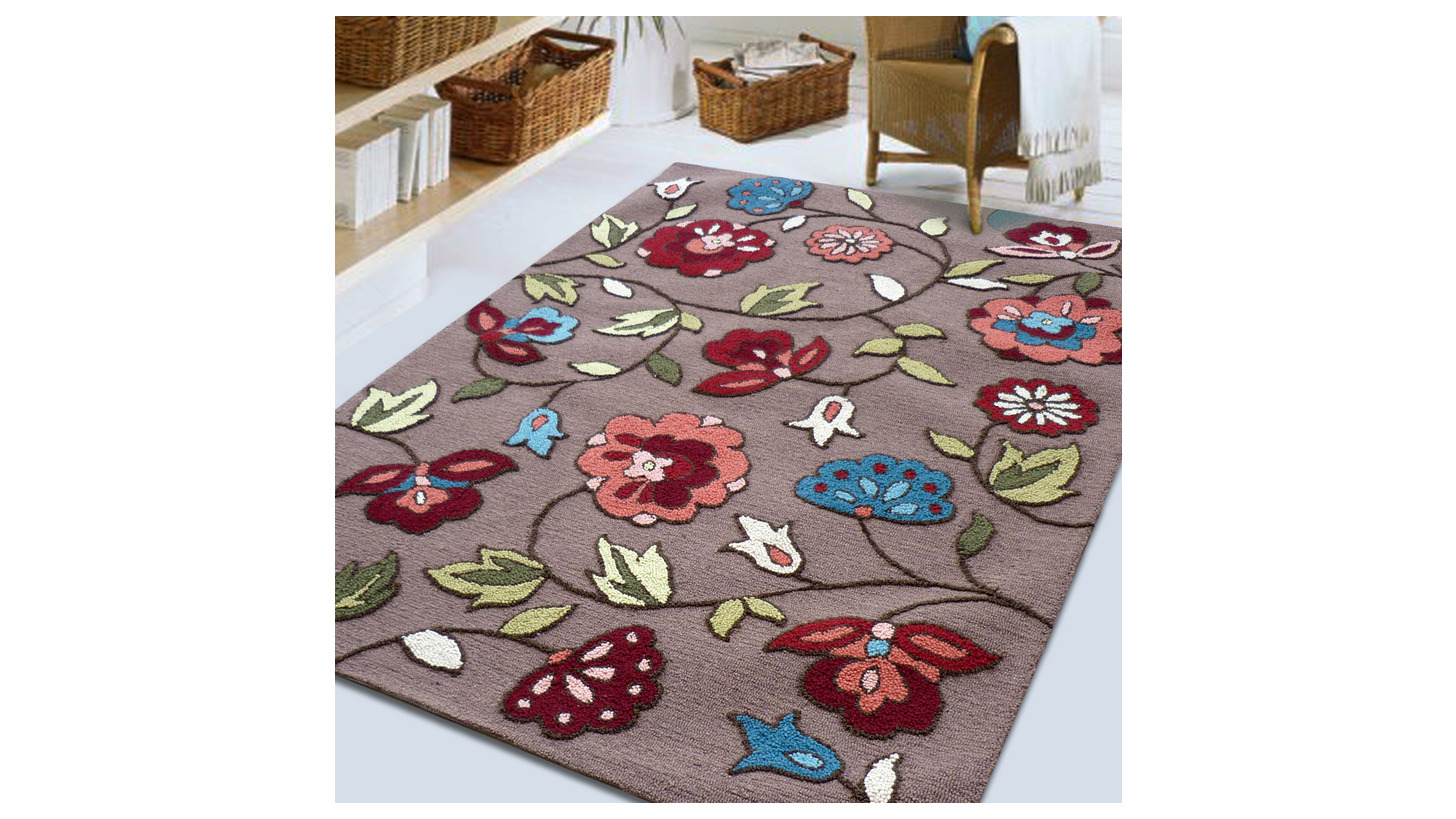 Logo Hooked Rugs