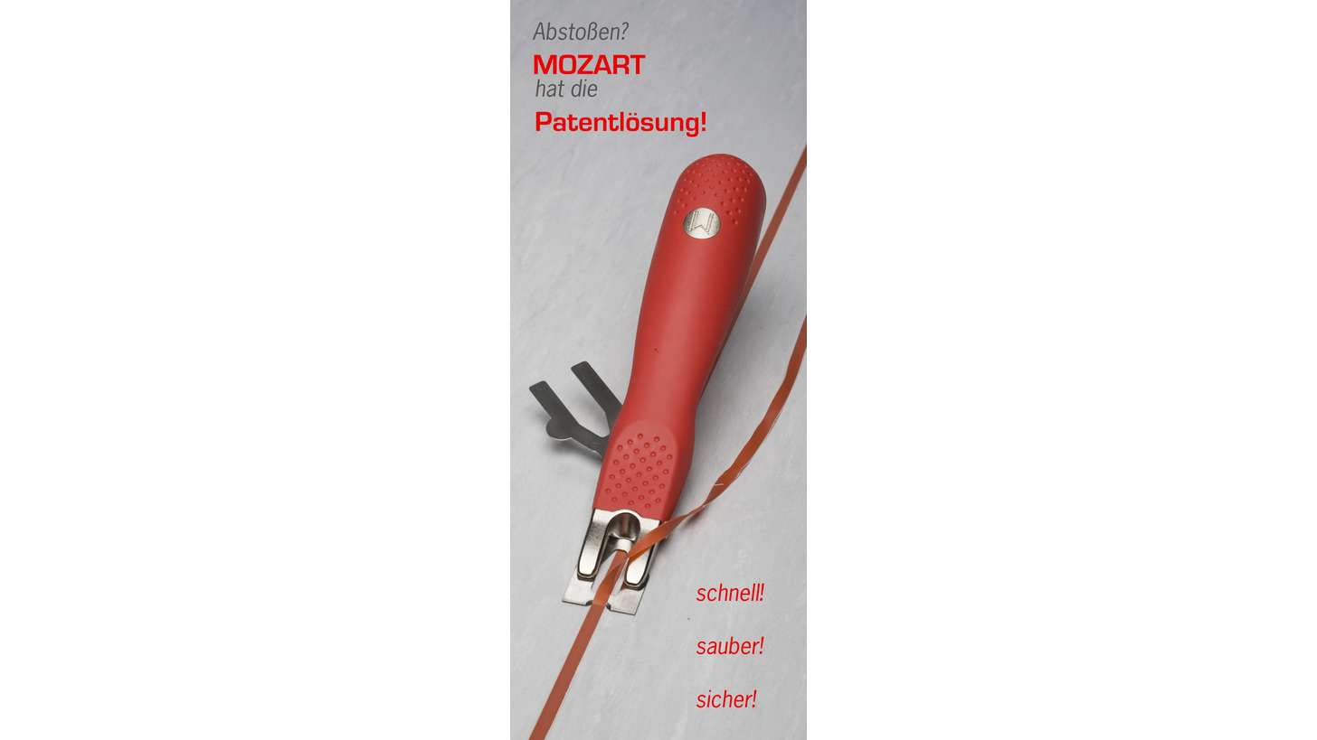 Logo MOZART - Trimming knife