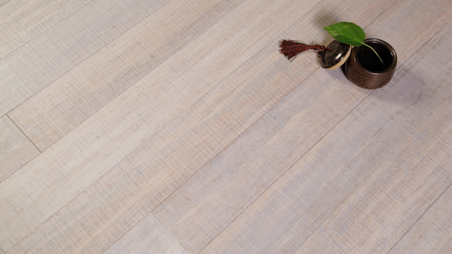 Logo Sawn Mark Strand Woven Bamboo Flooring