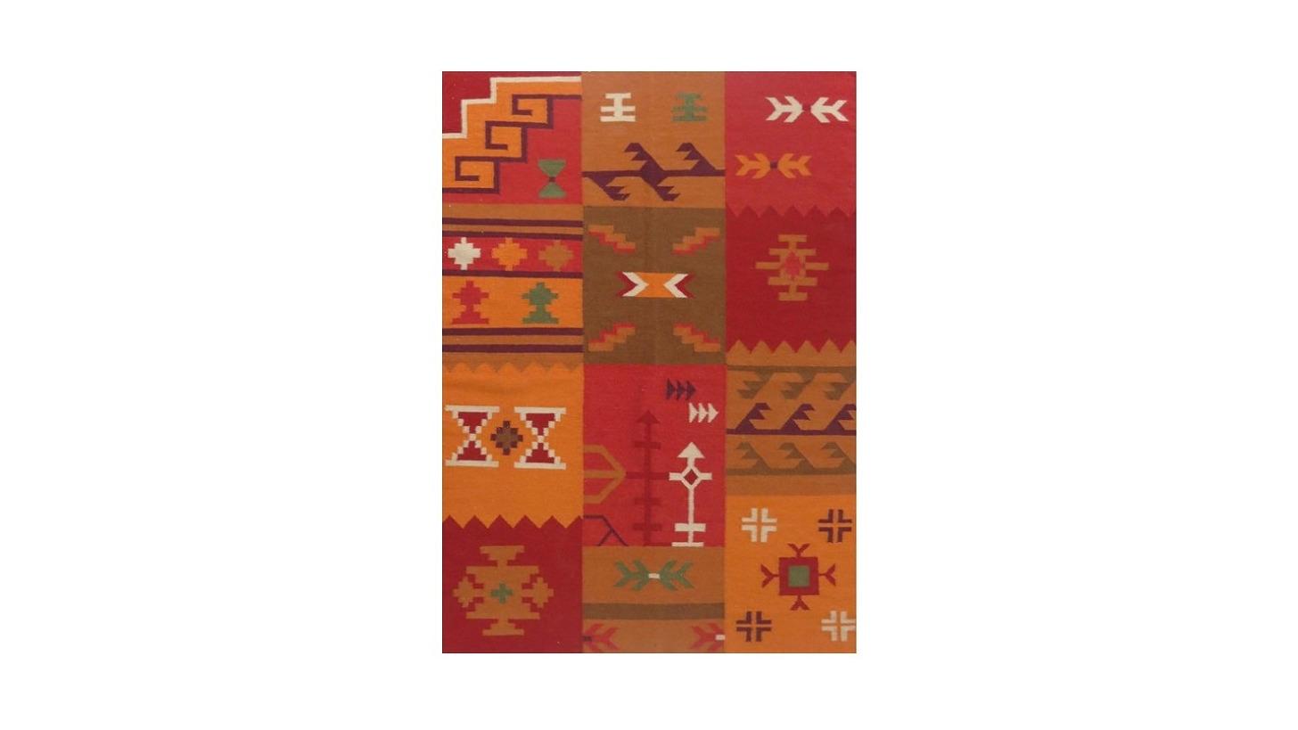 Logo Handmade Woollen Durries/Killim