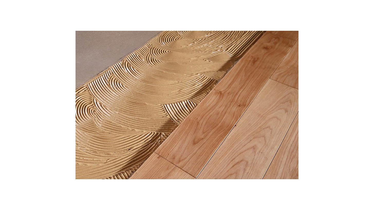 Logo Bonding of wood flooring
