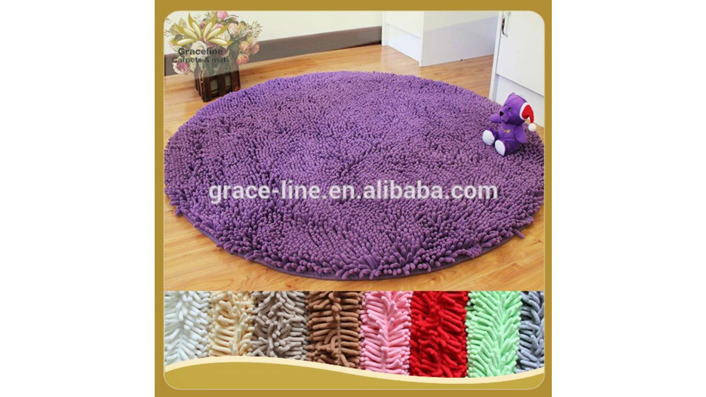 Logo Home chenille bath mat