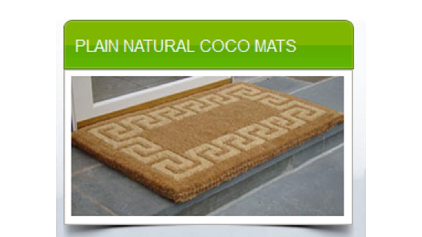 Logo PLAIN NATURAL COCO MATS