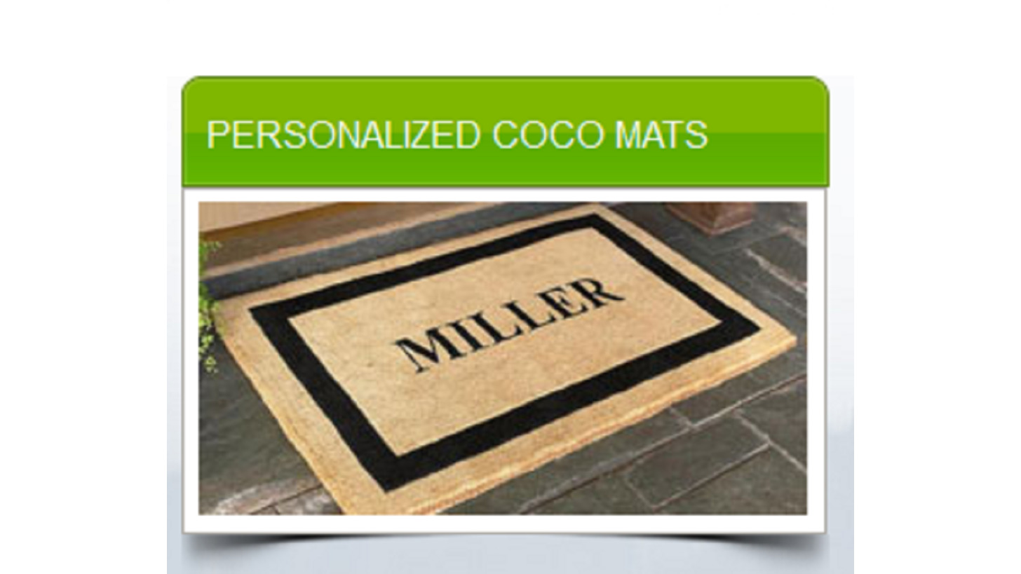 Logo PERSONALIZED COCO MATS