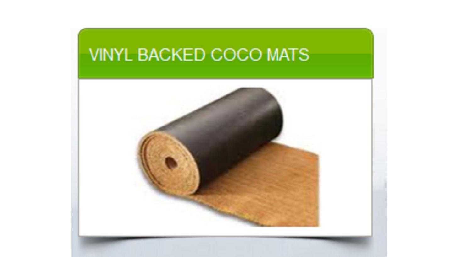Logo VINYL BACKED COCO MATS