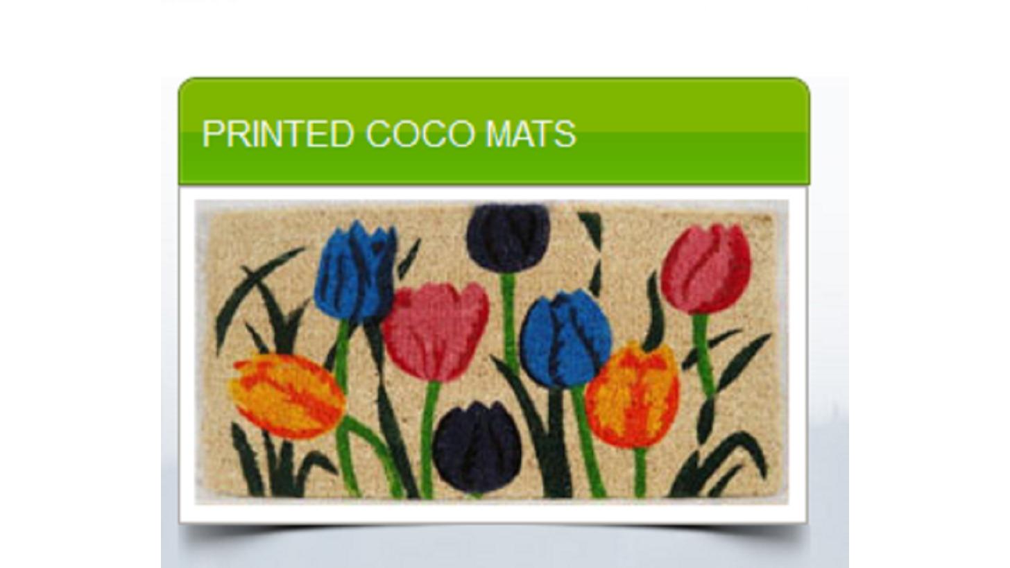 Logo PRINTED COCO MATS