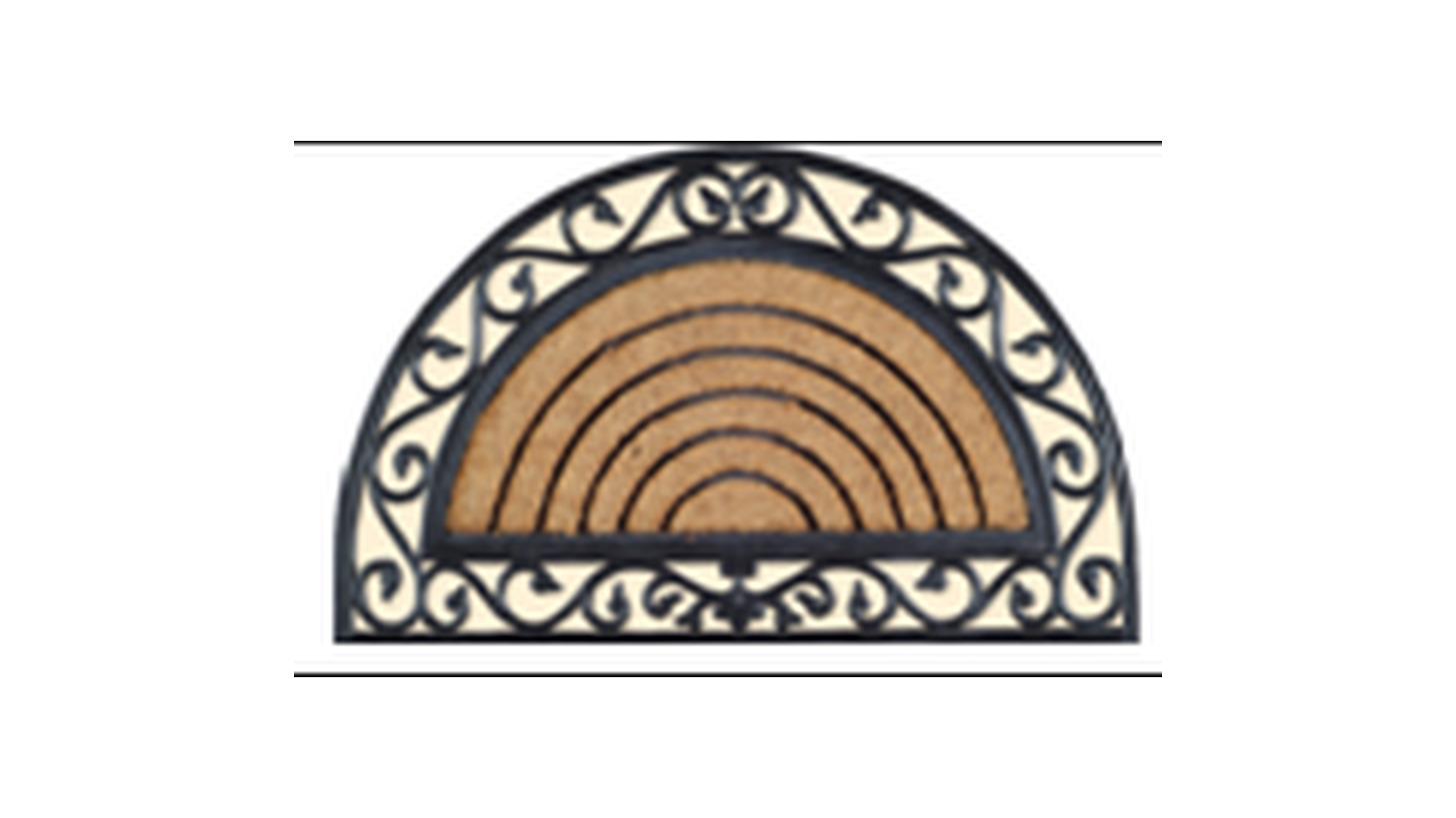 Logo Coir Moulded Mat