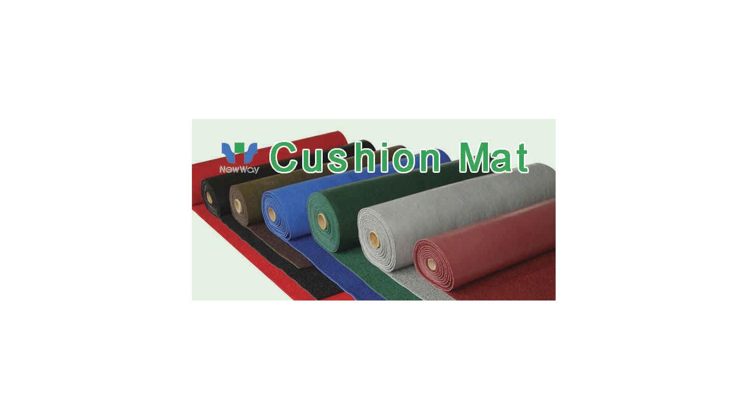 Logo Vinyl Cushion Floor Mat
