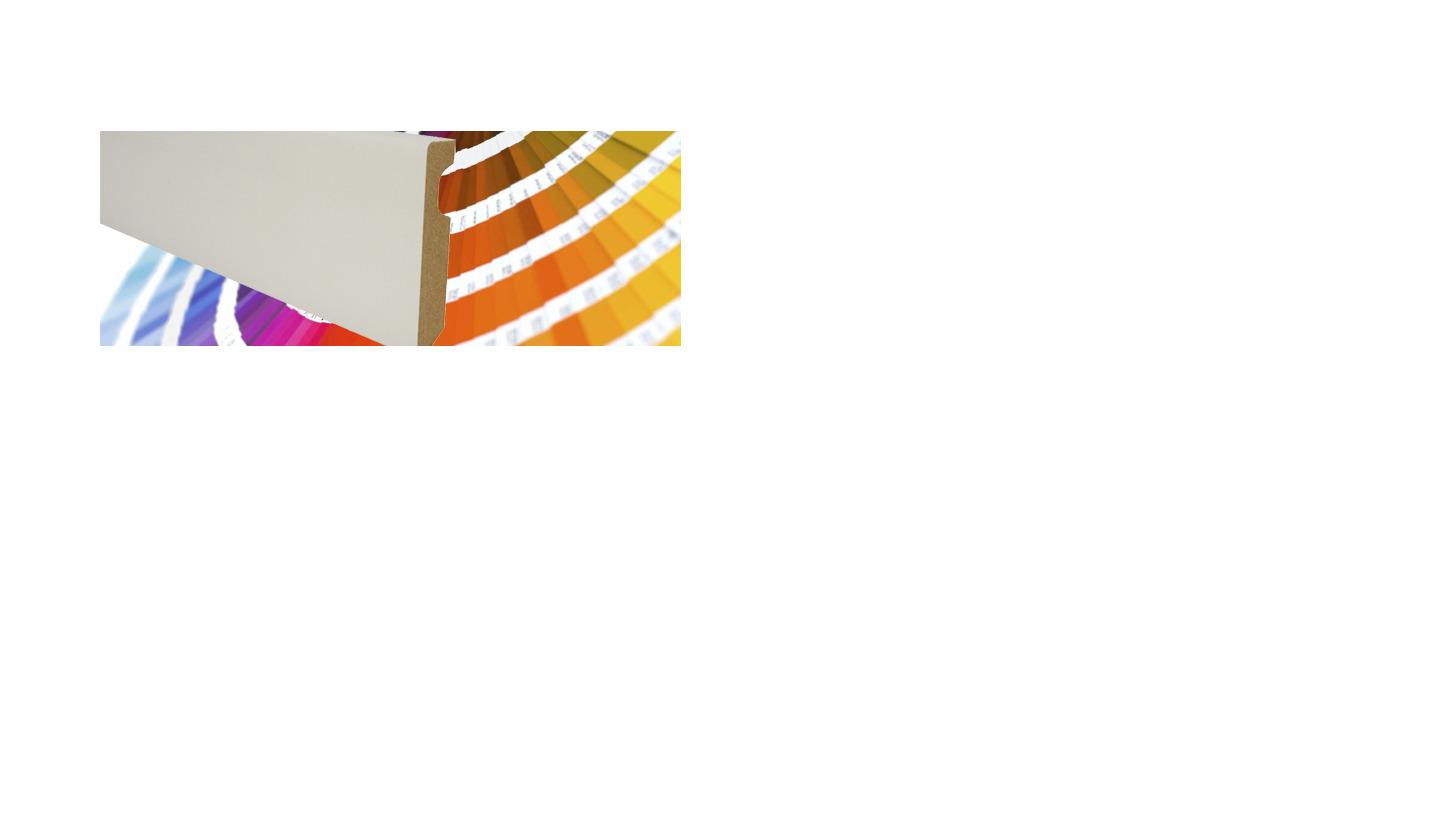 Logo Lacquered Skirtings