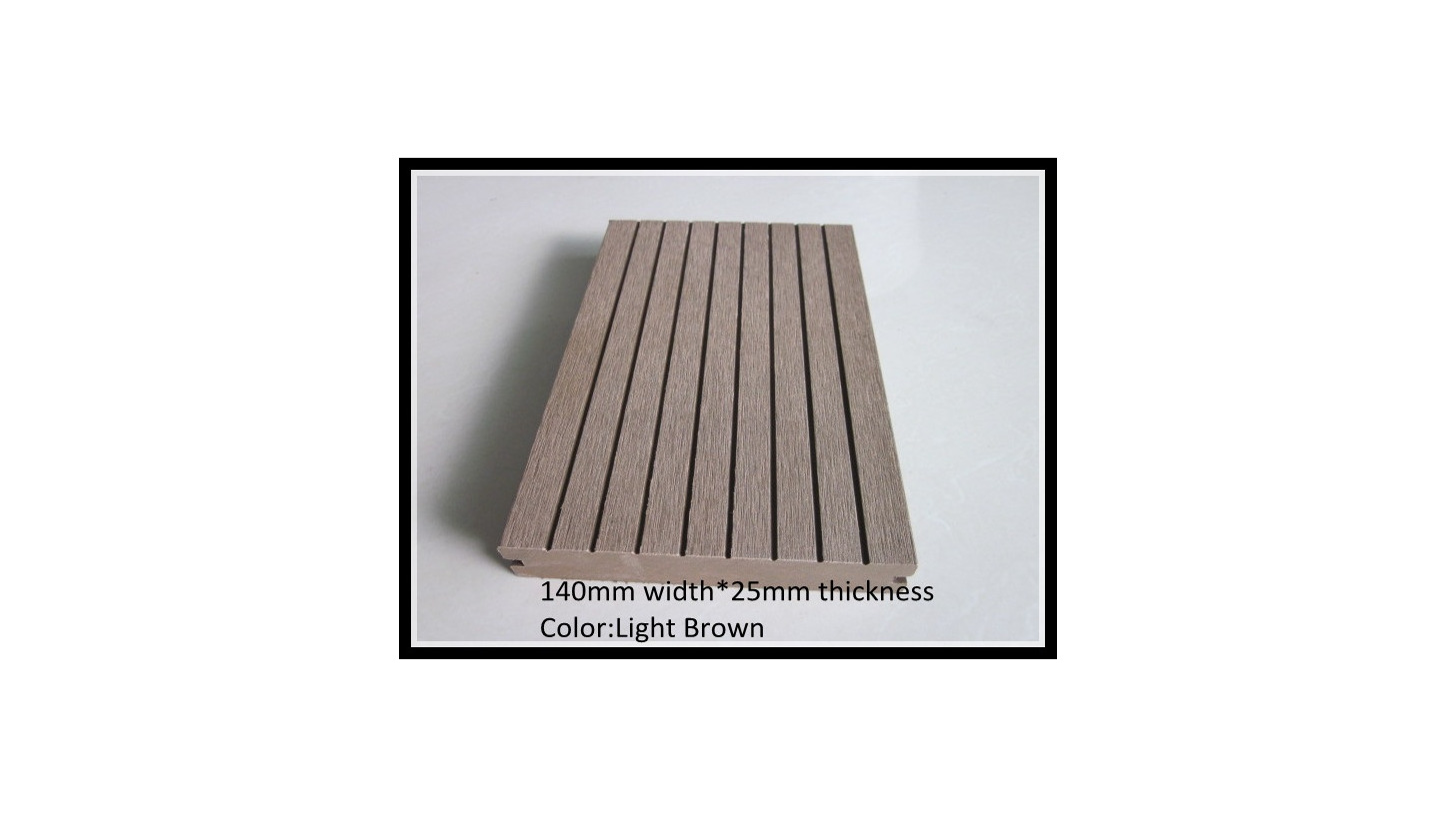 Logo Water proof and eco-friendly wood plastic composite (passed CE)