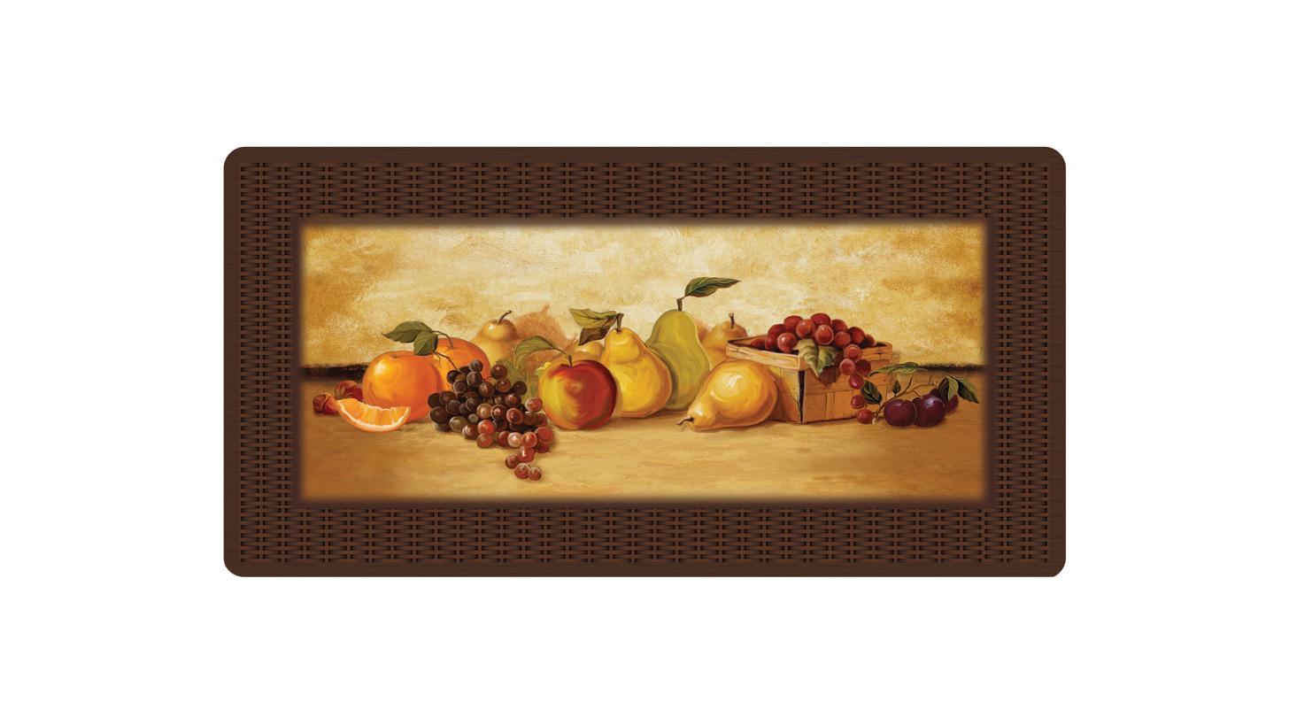 Logo Kitchen Comfort Mats - Delicious Fruit