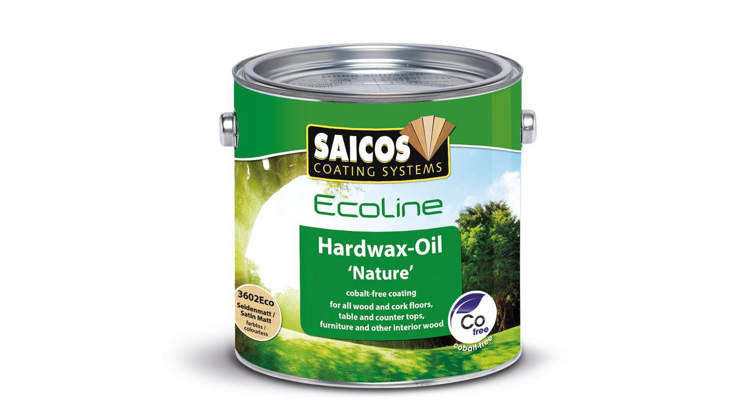 """Logo Ecoline Hartwachsöl """"Natur"""""""