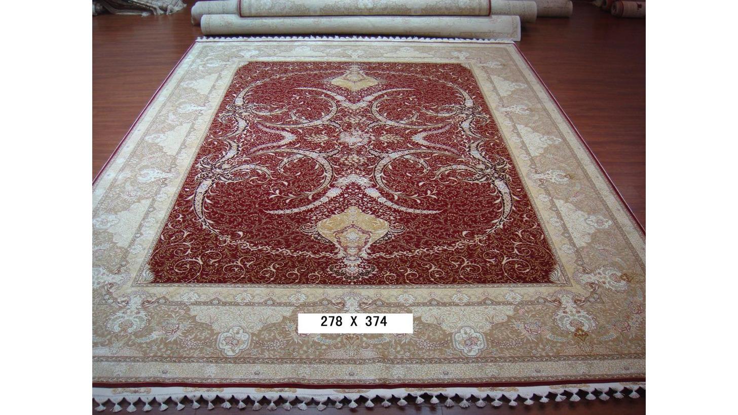 Logo Wool & Silk Handmade Carpets