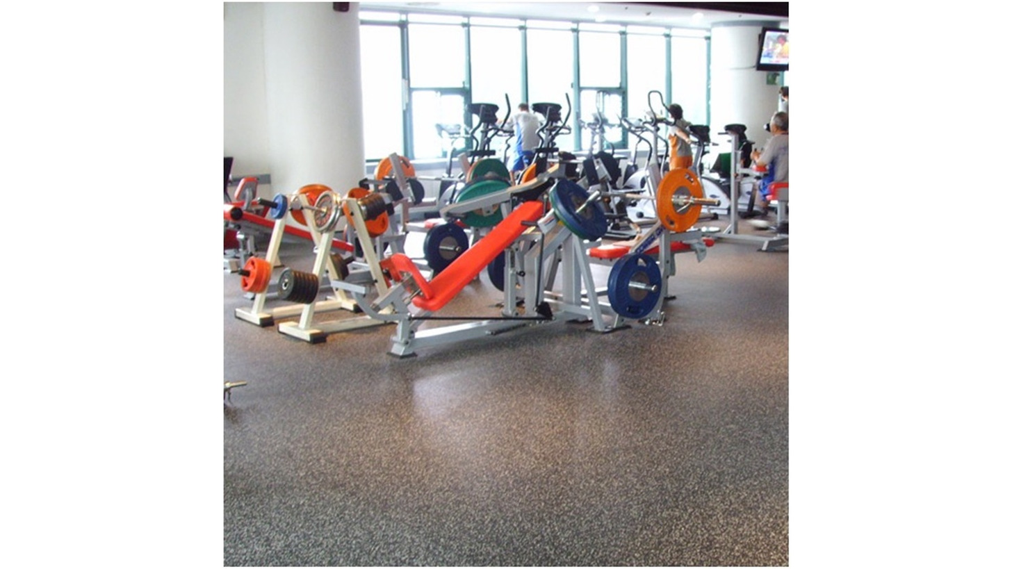 Logo Commercial and Gym Flooring