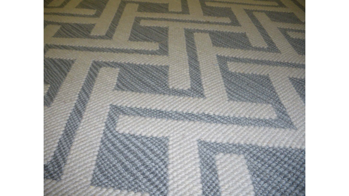Logo Wilton woven carpet