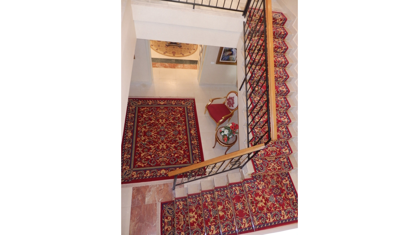 Logo Axminster carpet