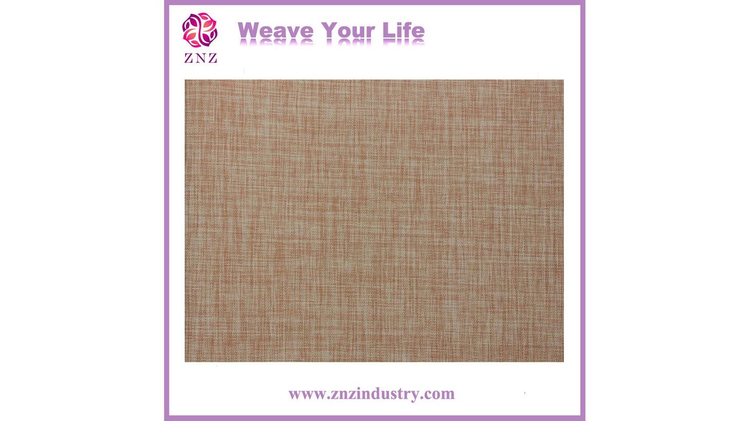 Logo PVC Woven Wallpaper