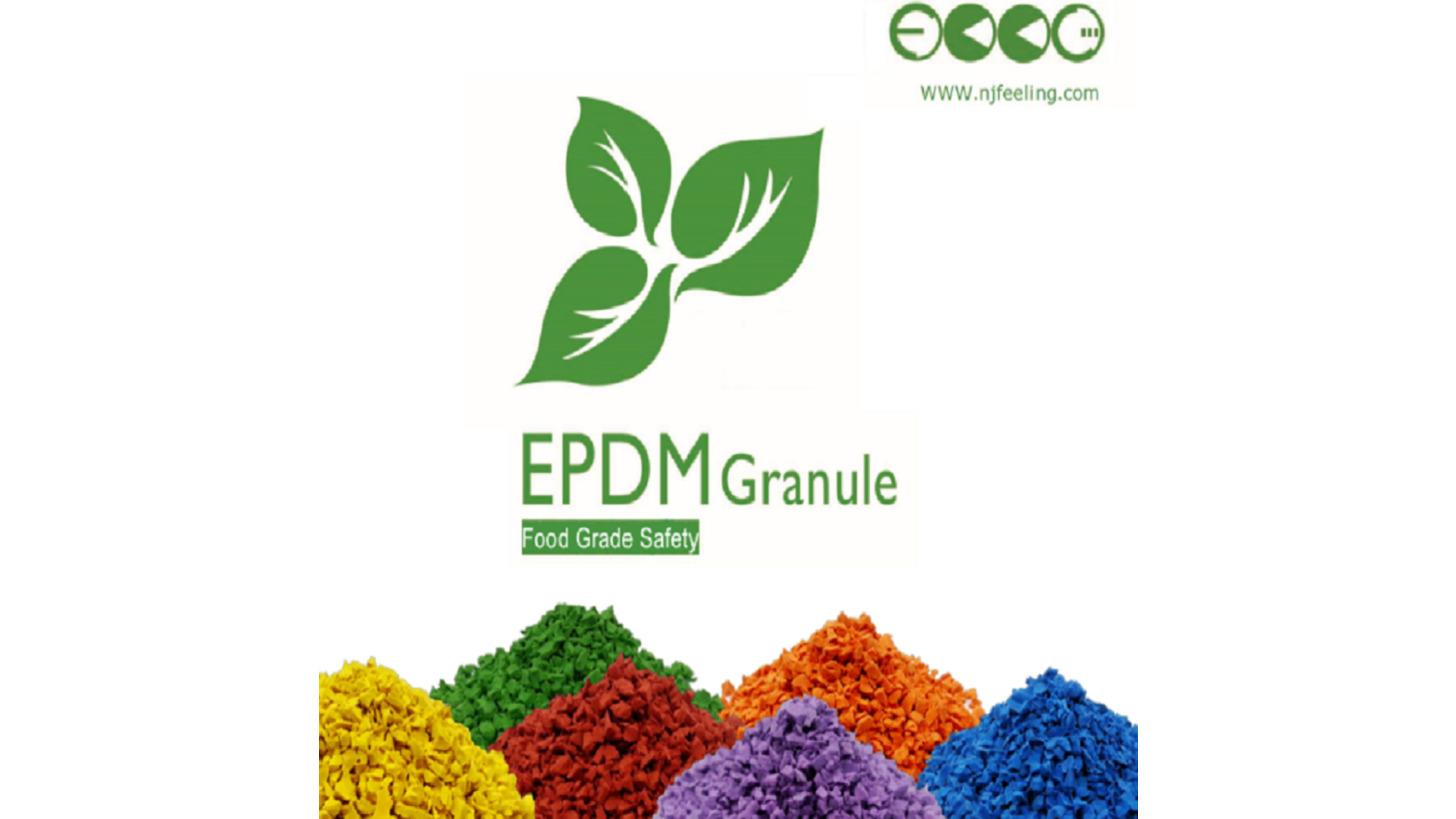 Logo EPDM colored granules