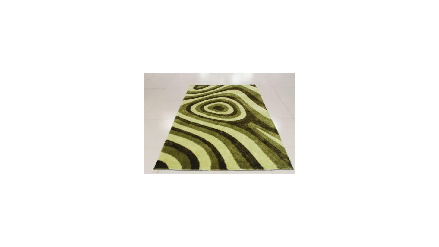 Logo Silk Design Shaggy Carpet