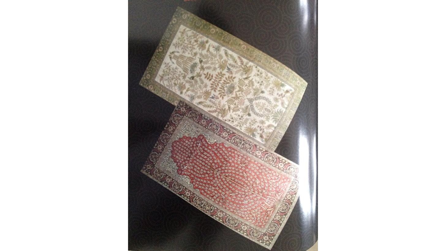 Logo 300L Double Knots Silk Carpets