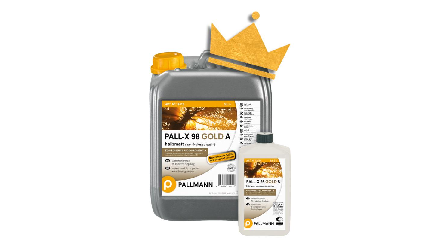 Logo PALL-X 98 GOLD
