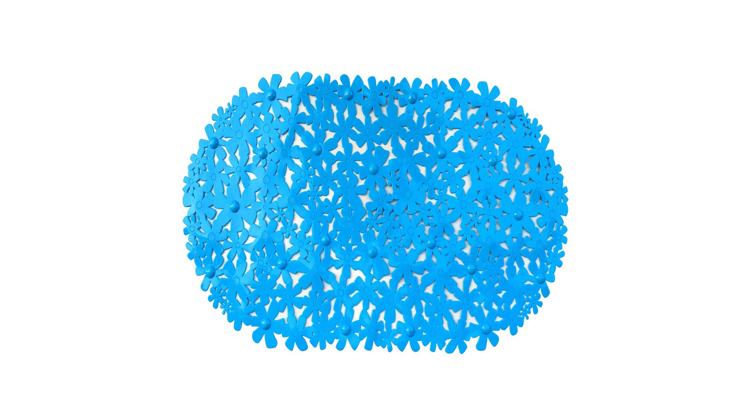 Logo PVC BATH MAT  WITH SUCTION CUPS