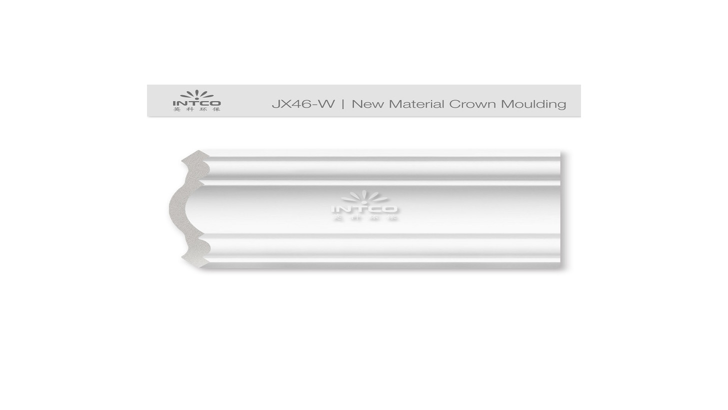 Logo New Material Crown Moulding JX46-W