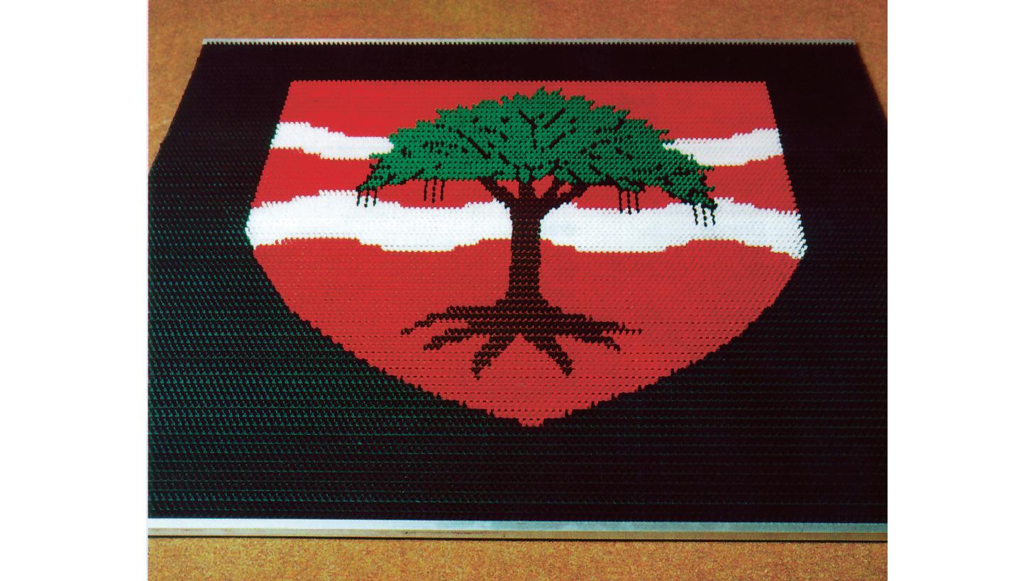 Logo Matten mit Ihrem eigenen Logo