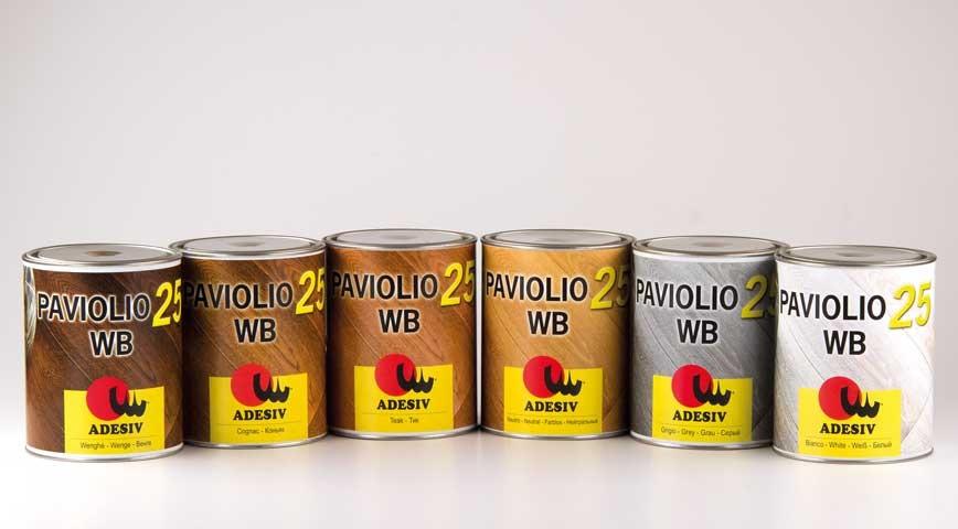 Logo Auto-polymerising oil PAVIOLIO 25 WB