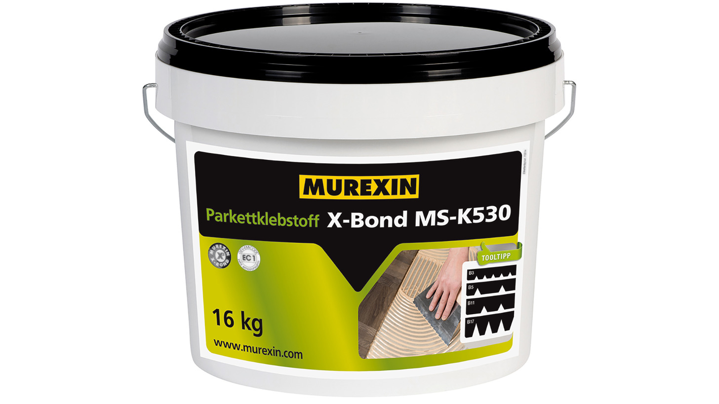 Logo Parkettklebstoff X-Bond MS-K530