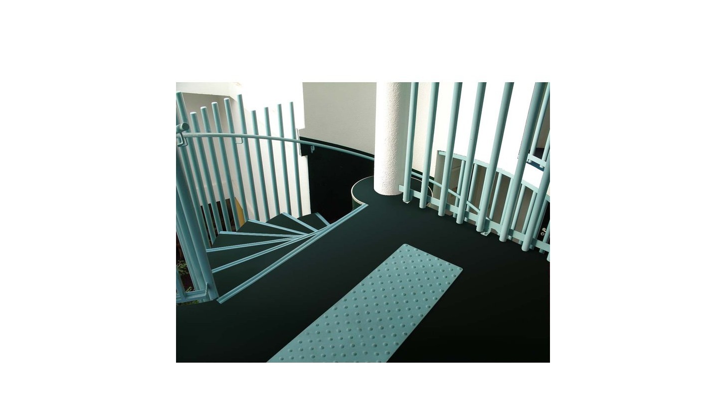 Romus champlan exhibitor domotex 2018 vigiline rubber tactile floor tiles dailygadgetfo Choice Image