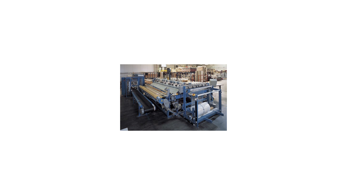 Logo Rug rolling and wrapping machine M 5727