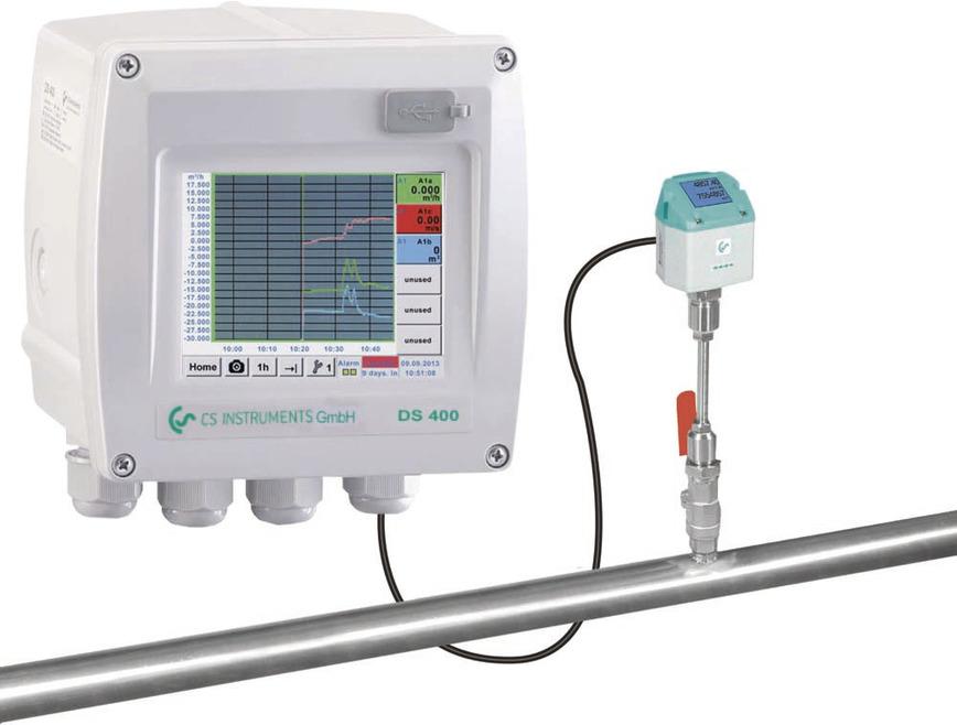 Logo DS 400 Flow measurement