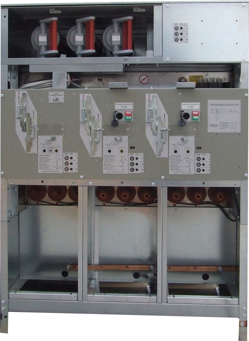 Logo RING MAIN UNIT WITH FUSES