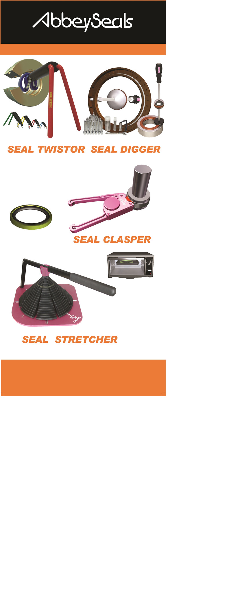 Logo Seal Fitting and Removal Tools
