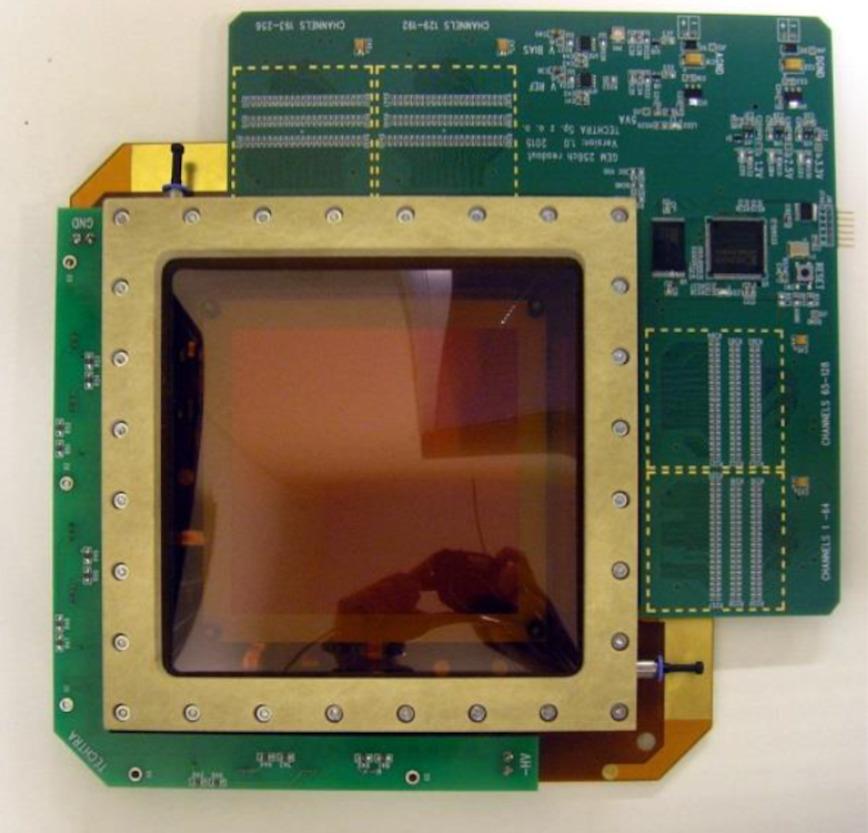 Logo Detektor der ionisierenden Strahlung