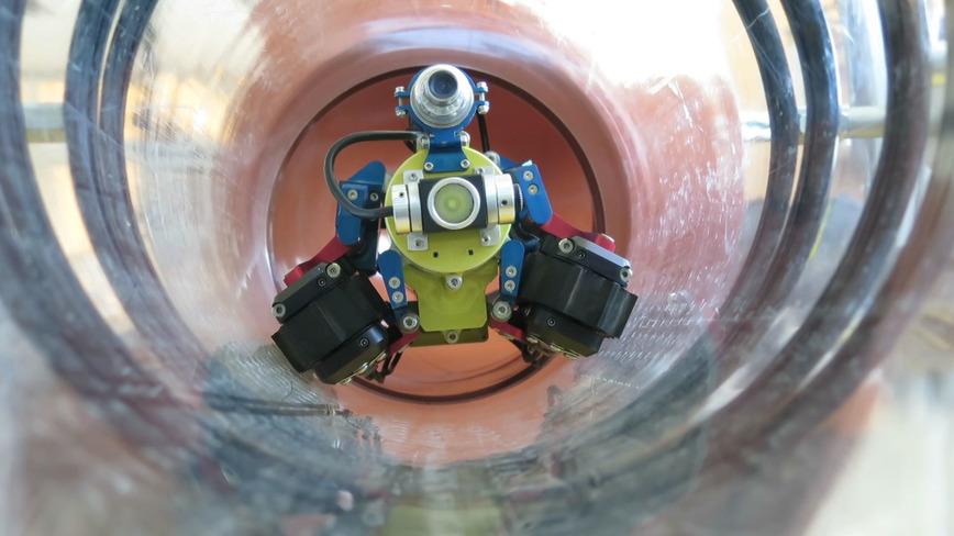 Logo Pipeline inspection robot