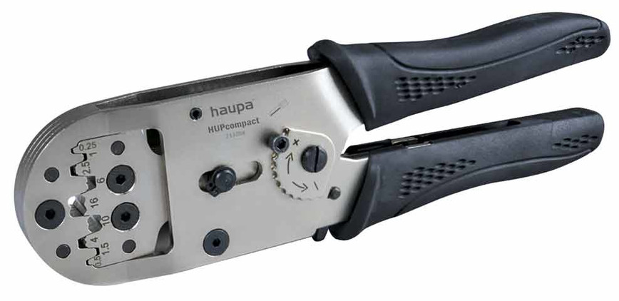 Logo HAUPA Crimpzange HUPcompact