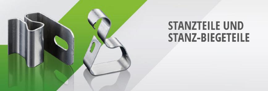 Logo Stanzteile und Stanz-Biegeteile