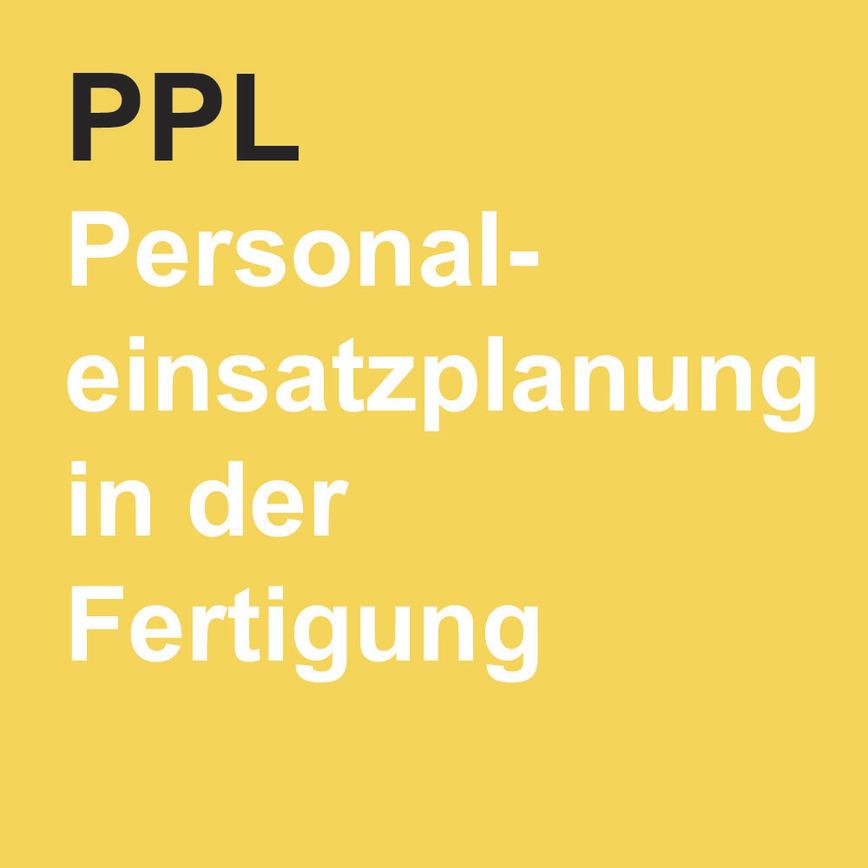 Logo Personaleinsatzplanung in der Fertigung