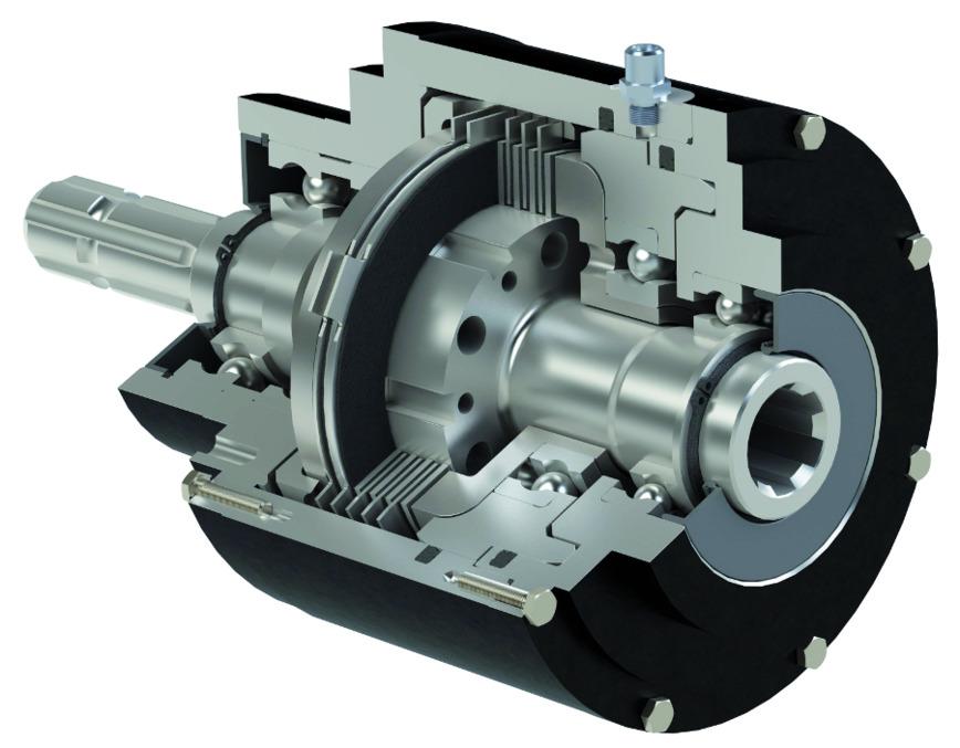 Logo hydraulic multiple-disc-clutch