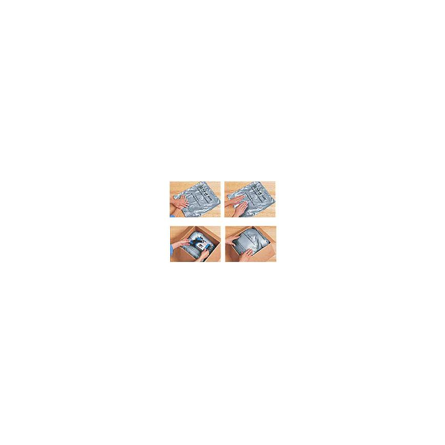 Logo Schaumbeutelverpackungsverfahren